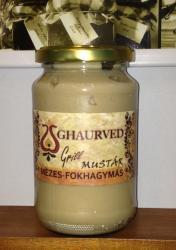 GHAURVED Mézes-Fokhagymás Mustár (350g)