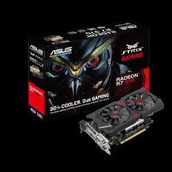 ASUS Radeon R7 370 4GB GDDR5 256bit PCIe (STRIX-R7370-DC2-4GD5-GAMING)