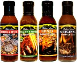 Walden Farms Füstös BBQ Sauces (340g)
