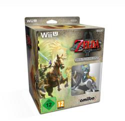 Nintendo The Legend of Zelda Twilight Princess HD [Wolf Link Amiibo Bundle] (Wii U)