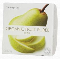 Clearspring Bio Körte Gyümölcspüré (2x100g)