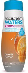 SodaStream Waters Zeros Narancs-mangó Szörp Steviával (440ml)