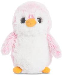 Aurora Pom Pom pingvin, rózsaszín 15cm