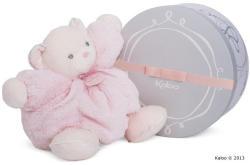 Kaloo Perle Chubby Bear - Ursulet moale din plus cu clopotel de calitate luxoasa in ambalaj cadou 30cm