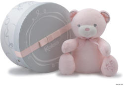 Kaloo Perle Musical Baby Doudou - Ursulet de plus muzical de calitate luxoasa in ambalaj cadou 25cm