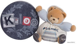 Kaloo Blue Denim Chubby Bear - Ursulet pentru sugari 18cm