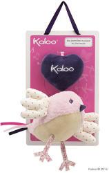 Kaloo Petite Rose Music Bird - Pasare muzicala din plus moale 45cm