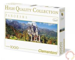 Clementoni Panoráma puzzle - Neuschwanstein 1000 db-os (39283)