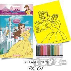Red Castle Plansa pictura nisip S Belle cu Floare (PKS01)