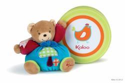 Kaloo Colors Chubby Bear Mushroom - Ursulet din plus moale in ambalaj cadou 18cm