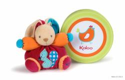 Kaloo Colors Chubby Rabbit Squirrel - Iepuras din plus moale in ambalaj cadou 18cm