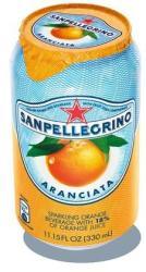 SAN PELLEGRINO Narancs Ízű Szénsavas Üdítőital (330ml)