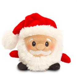 Keel Toys Christmas Bobballs - Mos Craciun 8cm