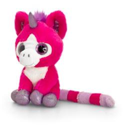 Keel Toys Sparkle Eyes - Unicorn cu ochi stralucitori 14cm (SW4187)