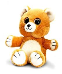 Keel Toys Sparkle Eyes -Ursulet Brun cu ochi stralucitori 20cm