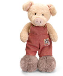 Keel Toys Tumbleweed Farm - Porcusor in salopeta 20cm
