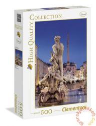Clementoni Piazza Navona, Róma 500 db-os (30445)