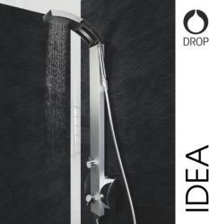 Drop Idea minőségi olasz zuhanypanel, termosztáttal (IDEA2)