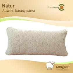Lineanatura Natur Ausztrál bárány gyapjúpárna 80x40cm 600g