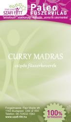 Szafi Fitt Paleo Curry Madras Csípős Fűszerkeverék (50g)