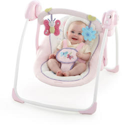 Bright Starts Comfort & Harmony: Cradling Bouncer - Penelope Petals (60217)