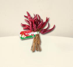 CHILI-TRADE Rövid erős paprika fűzér (50cm)