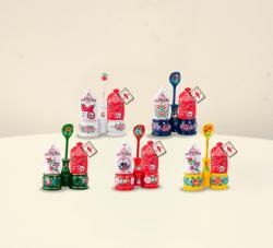 CHILI-TRADE Fűszerpaprika Ajándékcsomagban Sótartóval (50g)