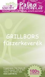 Szafi Fitt Grillbors Fűszerkeverék (30g)