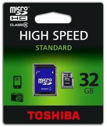 Toshiba High Speed M102 SDHC 32GB Class 4 THN-M102K0320M2