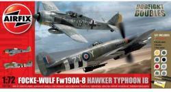 Airfix Focke Wulf Fw190A-8 Hawker Typhoon IB 1/72 AF50136