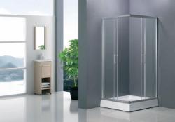 Niagara Wellness Ambon Frost + zuhanytálca 90x90 cm szögletes