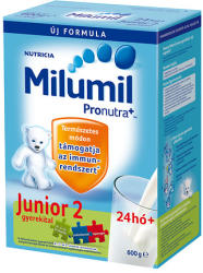 Milumil Junior 2 gyerekital 24hó+ - 600g