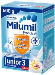 Milumil Junior 3 gyerekital 36hó+ - 600g