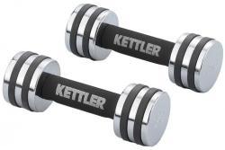 Kettler Set Gantere Crom (5kg)