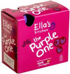 Ella's Kitchen Bio lila gyümölcsös püré multipack - 450g