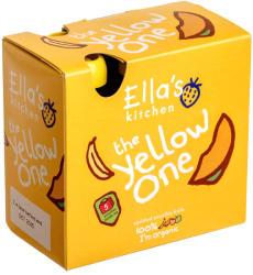 Ella's Kitchen Bio sárga gyümölcsös püré multipack - 450g