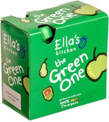 Ella's Kitchen Bio zöld gyümölcsös püré multipack - 450g