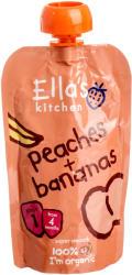 Ella's Kitchen Bio őszibarackos banánpüré - 120g
