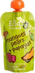 Ella's Kitchen Bio papajás körtepüré mangóval - 120g