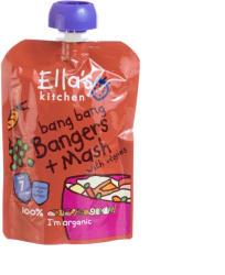 Ella's Kitchen Bio krumplipüré sertéshússal és zöldségekkel - 130g