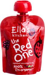 Ella's Kitchen Bio piros gyümölcsös püré - 90g