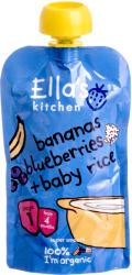 Ella's Kitchen Bio banános-áfonyás rizs - 120g