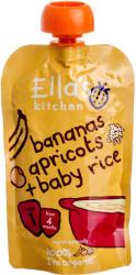 Ella's Kitchen Bio banános-sárgabarackos rizs - 120g