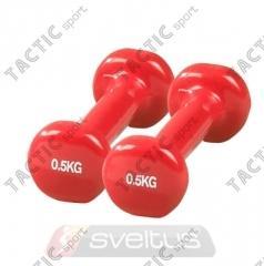 Sveltus Set Gantere Fitness Epoxy (0.5kg)