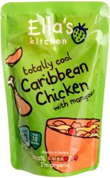 Ella's Kitchen Bio karibi csirke mangóval - 190g