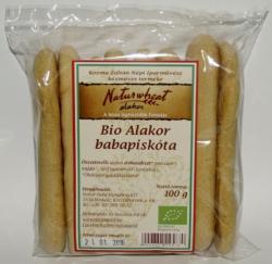 Naturgold Bio Alakor babapiskóta - 100g
