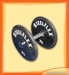 Steelflex Rubber Dumbell (2x7.5kg)