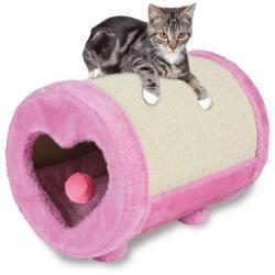 TRIXIE Kitten szivecskés kaparóhenger 27x39cm (43116)