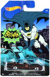 Mattel Hot Wheels - Batman kisautók - Klasszikus Batmobile