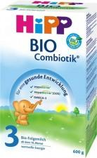 HiPP 3 Bio Combiotik tápszer 10hó+ - 600g